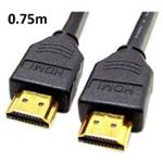 Audio Visual Leads - HDMI To HDMI 0.75m