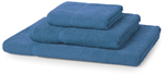 Hand Towel: Budget 450GSM - Mid Blue