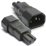 Power Adapters - Kettle C14 IEC Pins to Figure 8 C7